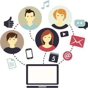 Redes sociales como influencias de vida