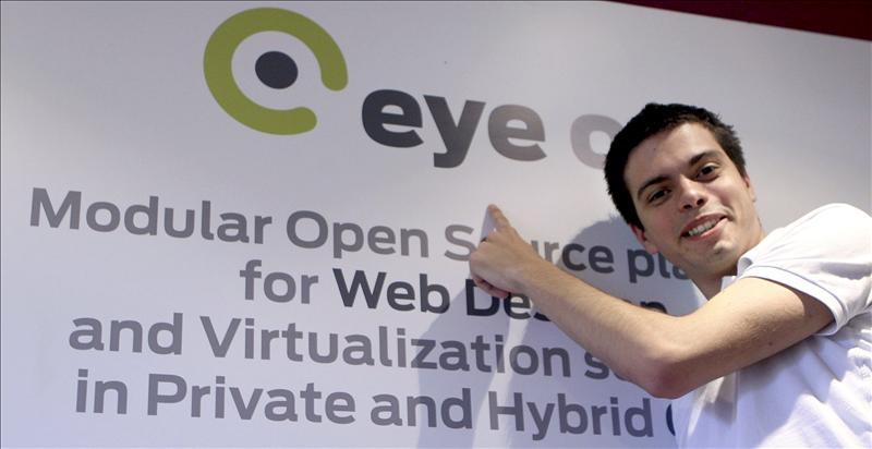 Sistema operativo líder EyeOS: Escritorio en la nube
