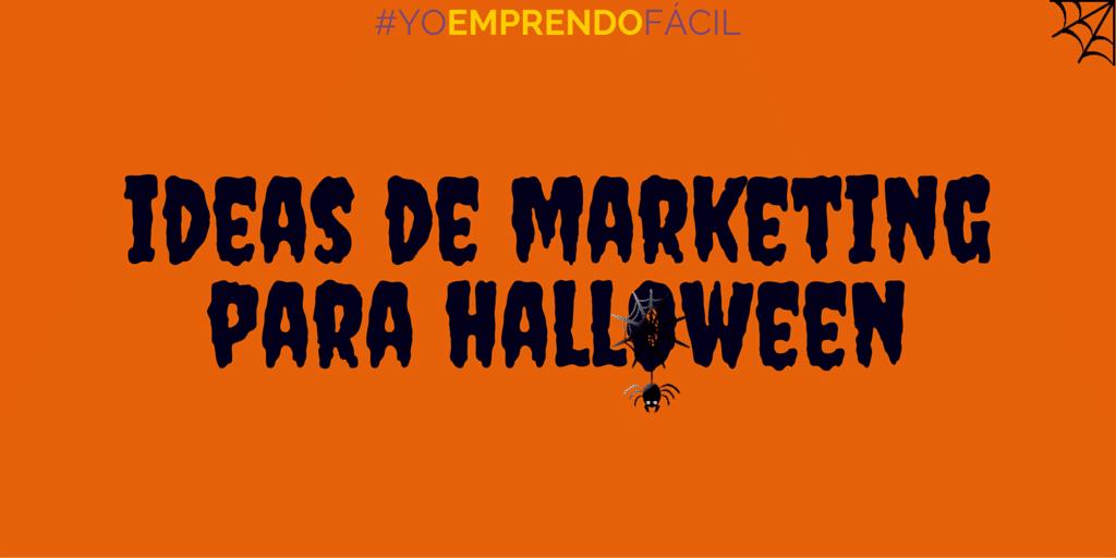 Marketing: Ideas para Halloween