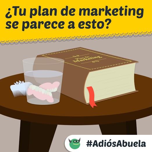 ¿Haces plan de marketing de contenidos como lo haría tu abuela?