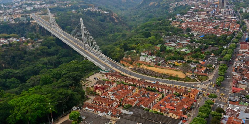 Bucaramanga, la ciudad bonita de Colombia.