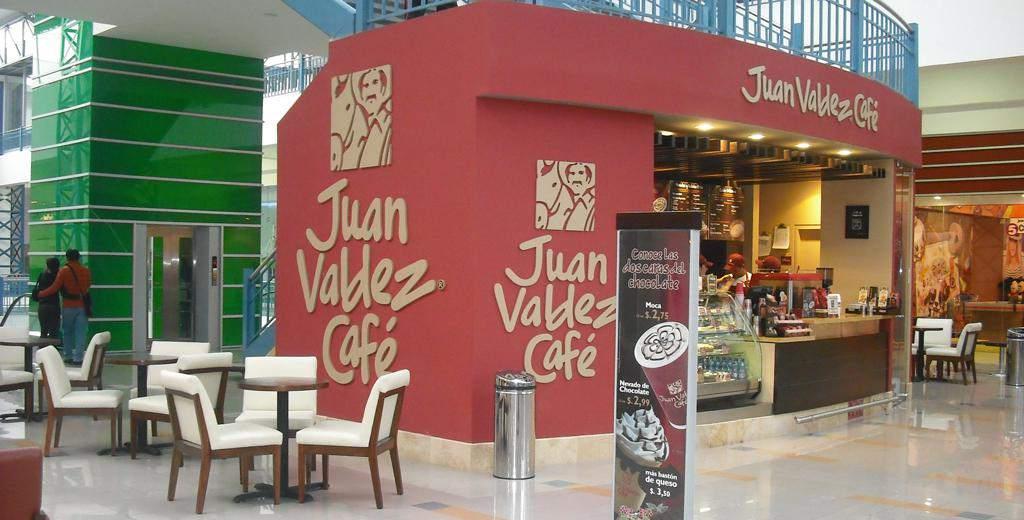 Café Juan Valdez.