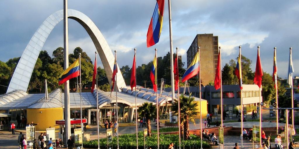 La capital colombiana.