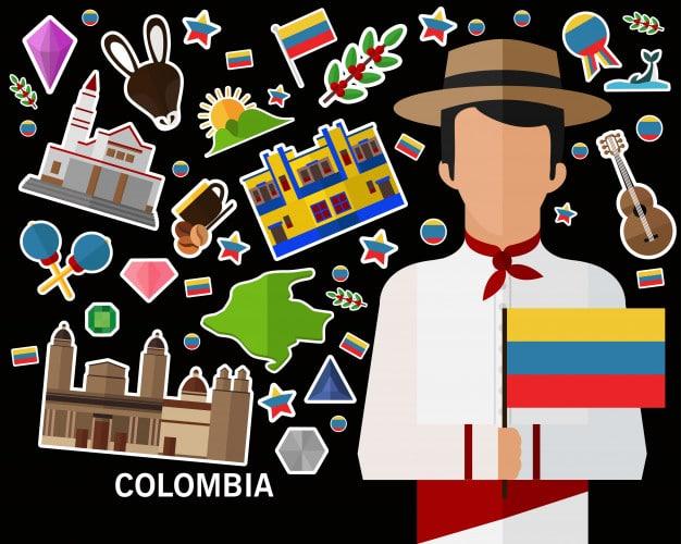 Los atractivos de Colombia.