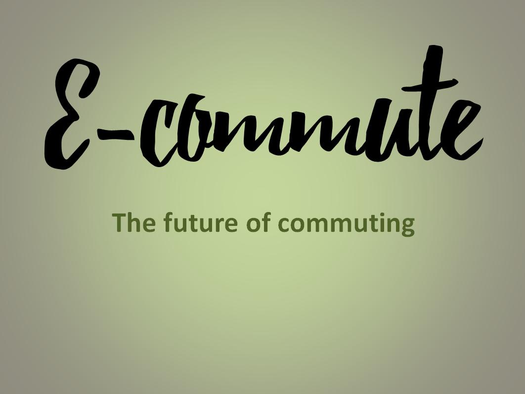E-Commute - Un emprendimiento de Almería para el mundo