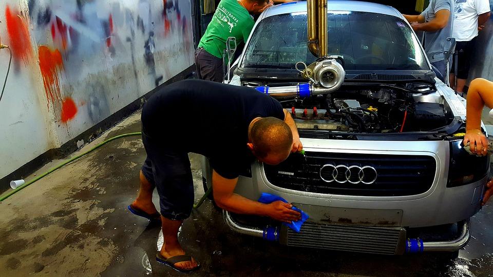 cómo instalar un lavadero de autos