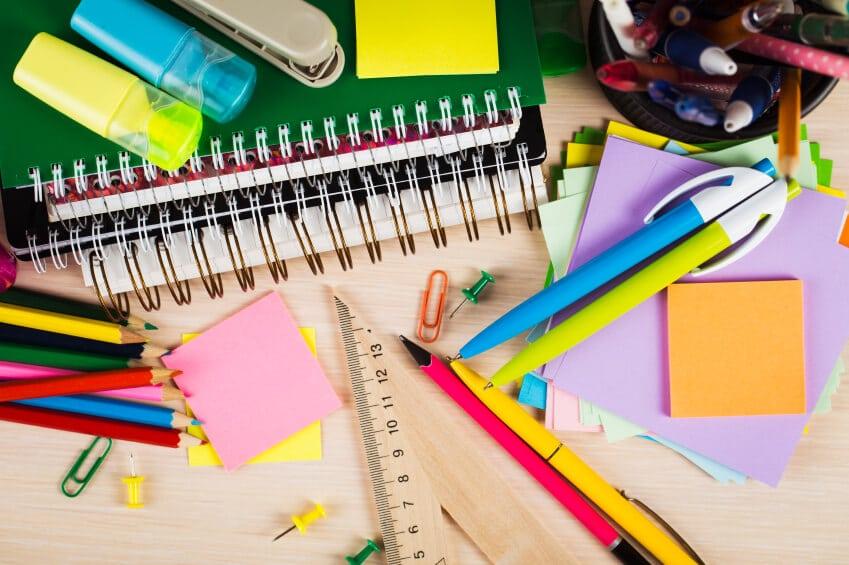 colores para negocio de papelería
