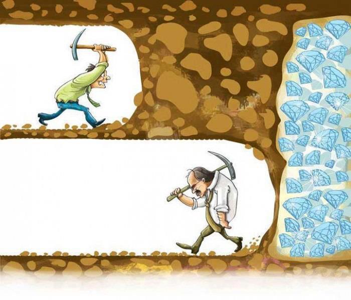 perseverancia de un emprendedor