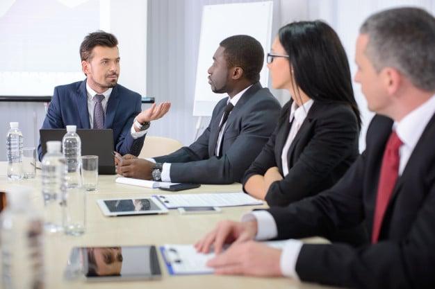 Reunión de ejecutivos.