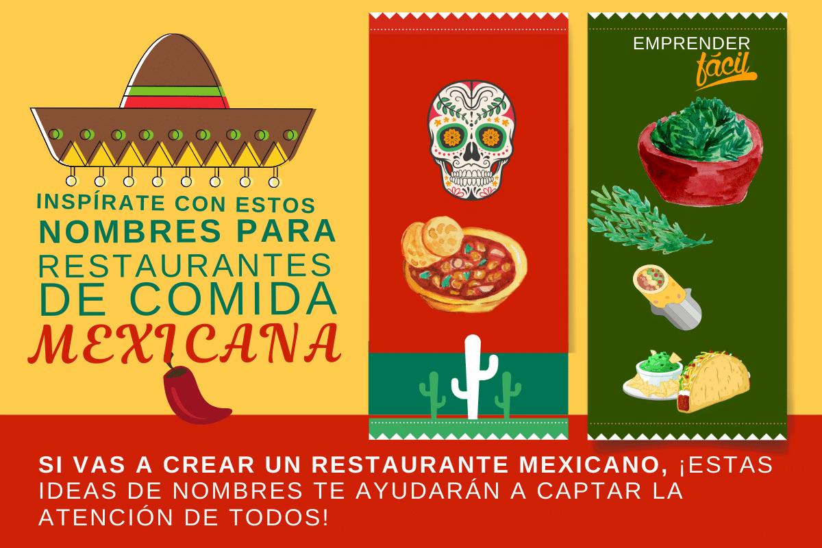 Nombres para Restaurantes Mexicanos
