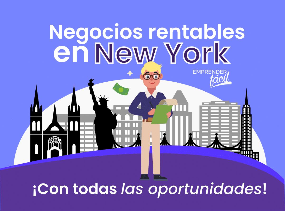 Negocios Rentables en Nueva York, Estados Unidos. Ideas